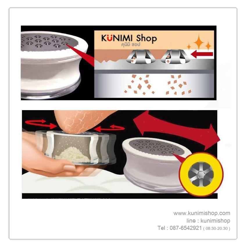 ที่ขูดหนังส้นเท้าแตก เมื่อใช้เป็นประจำช่วยให้ส้นเท้านุ่มลื่น ไม่เป็นขุย ขนาดกระทัดรัด จับถนัดมือ สามารถพกพาไปได้ทุกที่ครับ