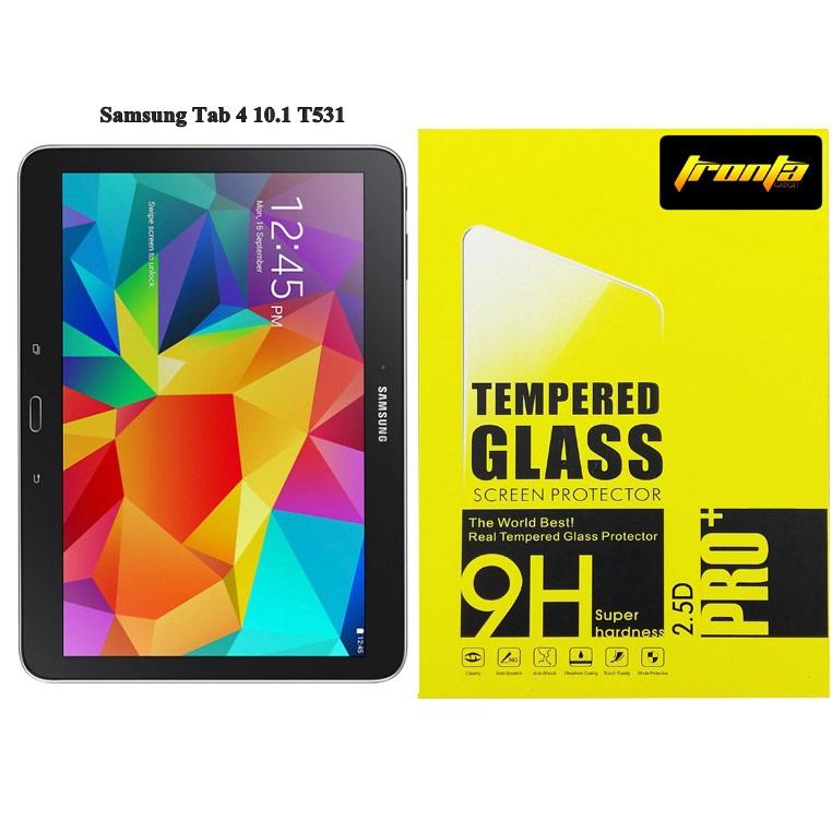 Tronta ฟิล์มกระจกซัมซุงแท็ปสี่ Samsung Tab4 10.1 T531