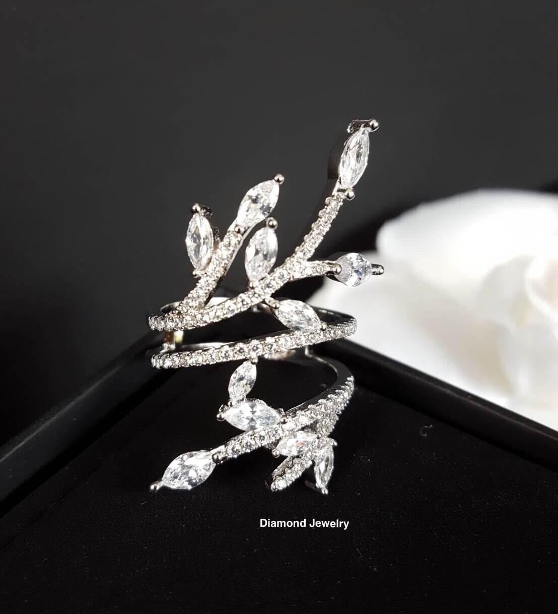 พร้อมส่ง APM Diamond Ring งานเพชร CZ แท้