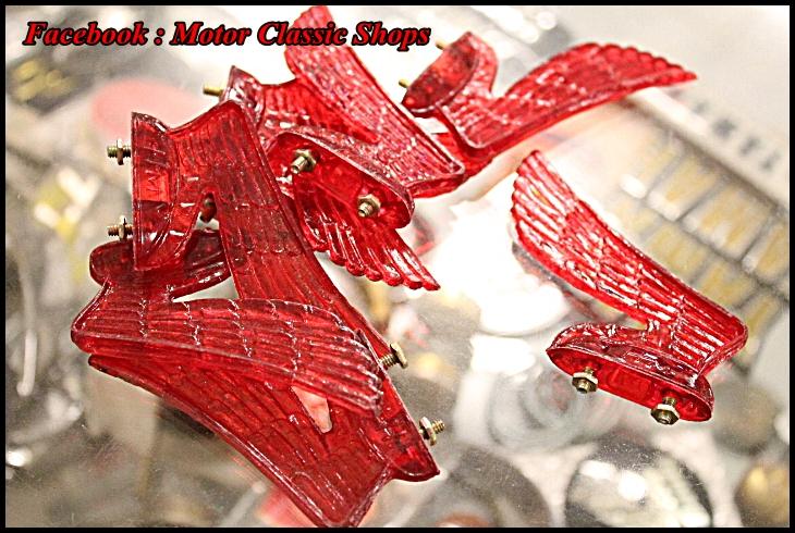 ปีกนก พลาสติก สีแดง งานใหม่ ตัวละ 180 บาท