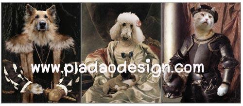 กระดาษสาพิมพ์ลาย rice paper เป็น กระดาษสา สำหรับทำงานศิลปะ เดคูพาจ Decoupage แนวภาพ น้องหมาน้องแมวเหมียวจัดเต็มในชุดแฟนซีแนวเจ้าชายเจ้าหญิง มาทั้ง พุดเดิ้ล อัลเซเฃี่ยน (ปลาดาว ดีไซน์)