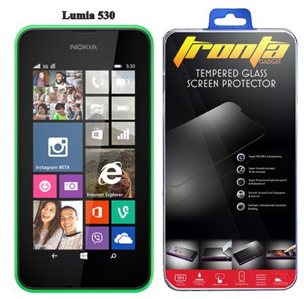 Tronta ฟิล์มกระจก ฟิล์มกันรอยมือถือ ไมโครซอฟท์ ลูเมีย Microsoft Lumia 530