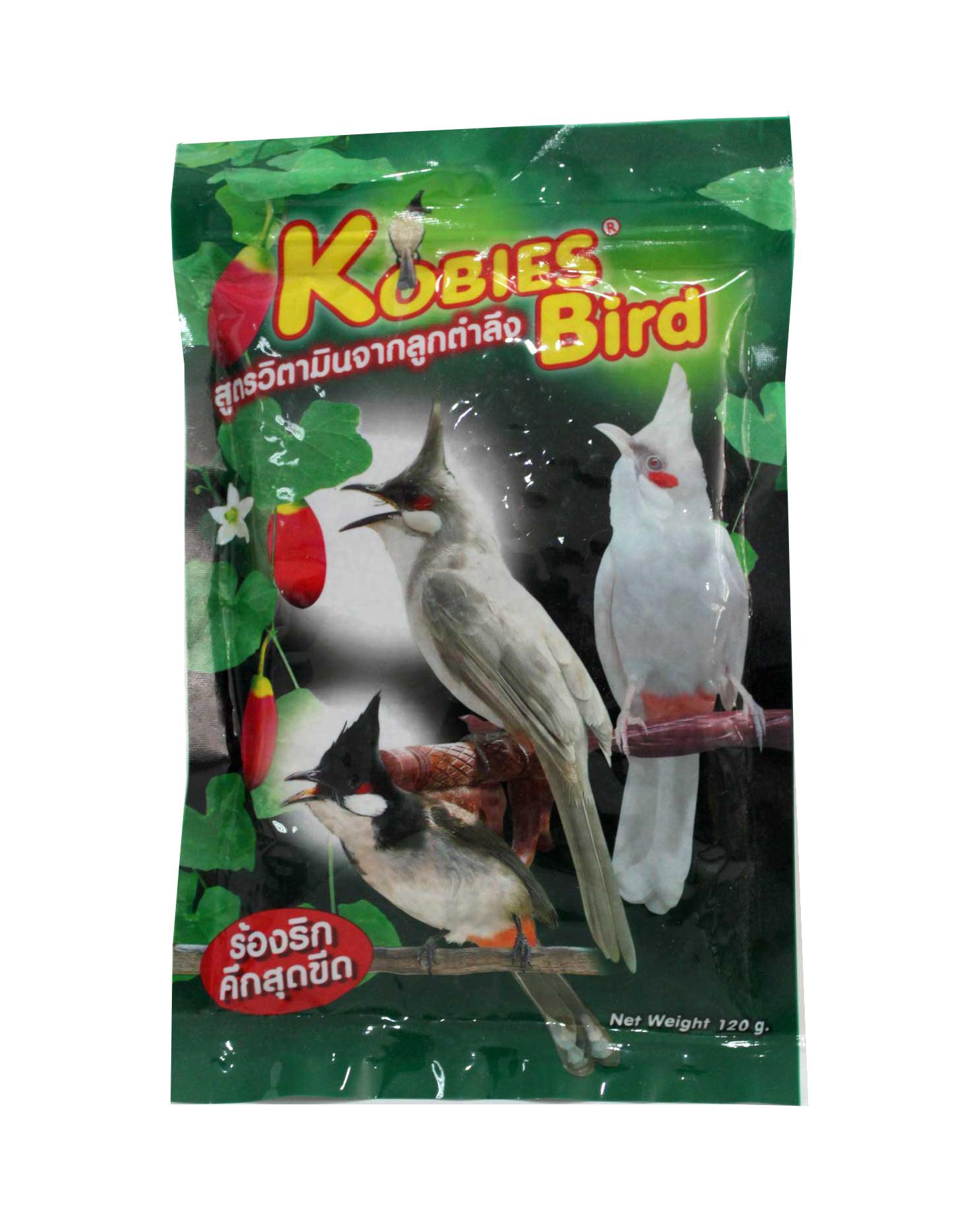 KobiesBird วิตามินลูกตำลึง 120g.KobiesBird วิตามินลูกตำลึง 120g.