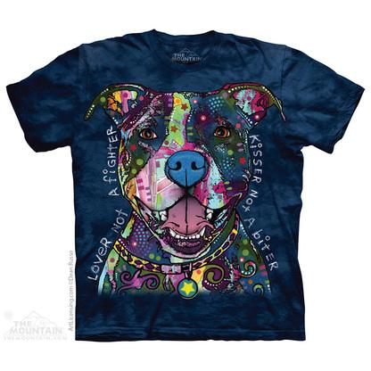 Pre. เสื้อยืดพิมพ์ลาย 3D The Mountain T-shirt : RUSSO KISSER T-SHIRT