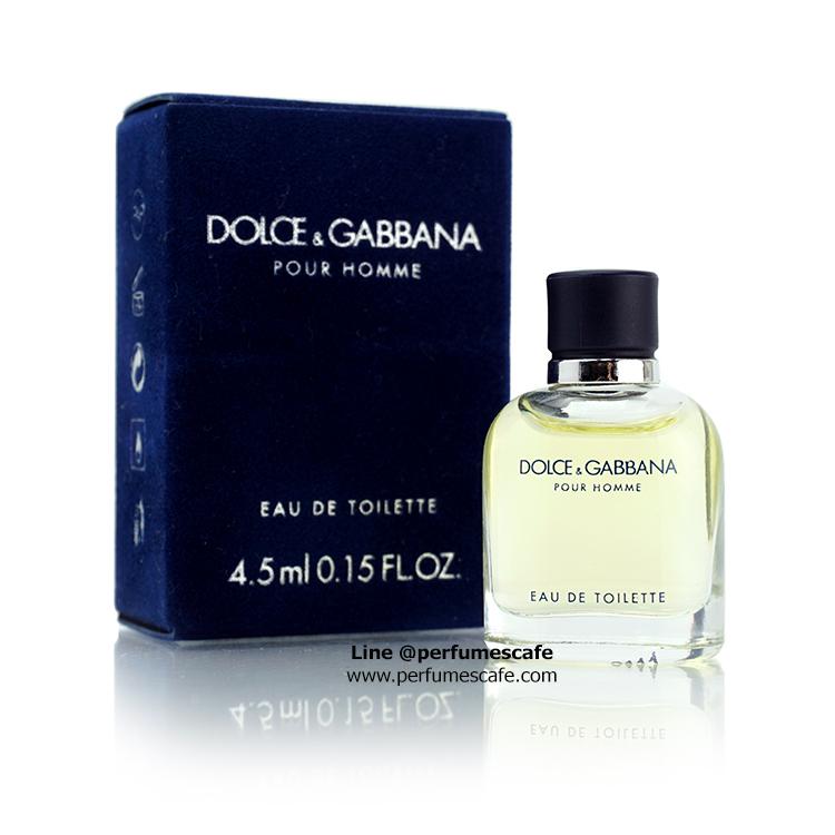 น้ำหอม Dolce&Gabbana Pour Homme EDT ขนาดดลอง 4.5ml แบบแต้ม