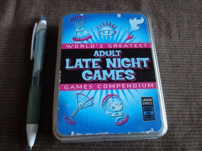 Adult late nieht games