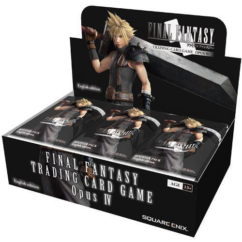 Final Fantasy TCG Opus IV 4 Complete Rare Card Set of 42!