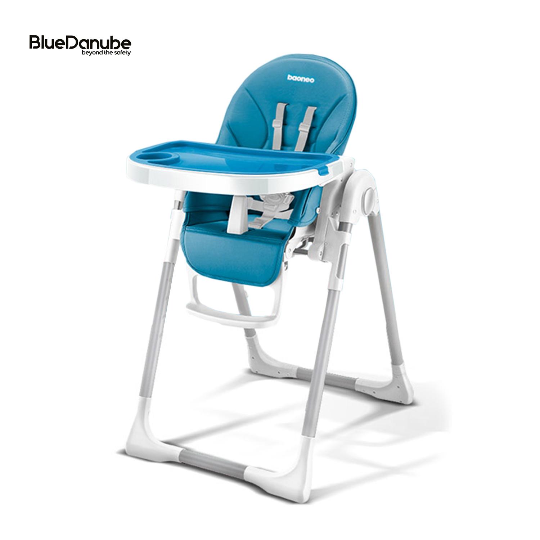 BlueDanube เก้าอี้นั้่งกินข้าวเด็กทรงสูง ปรับเอนได้ ปรับสูงต่ำได้ ประกัน 2 ปี