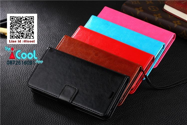 เคสมือถือ Oppo F1s -PU Leather Diary Case เคสหนังฝาพับ [Pre-Order]