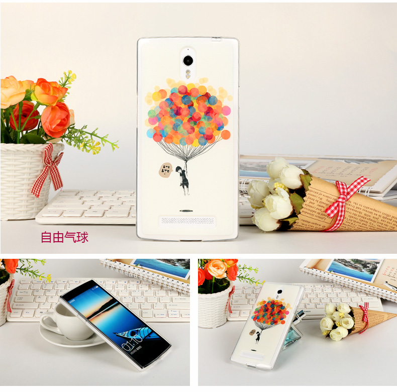 Oppo Find 7- Cartoon Jelly Case [Pre-Order]