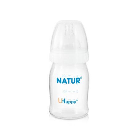 UHappy milk bottle ขวดนมยูแฮปปี้ 4oz