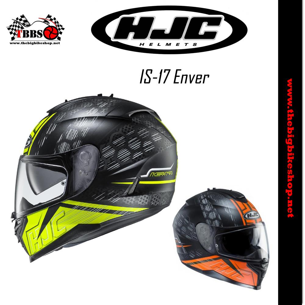 หมวกกันน็อค HJC IS-17 Enver
