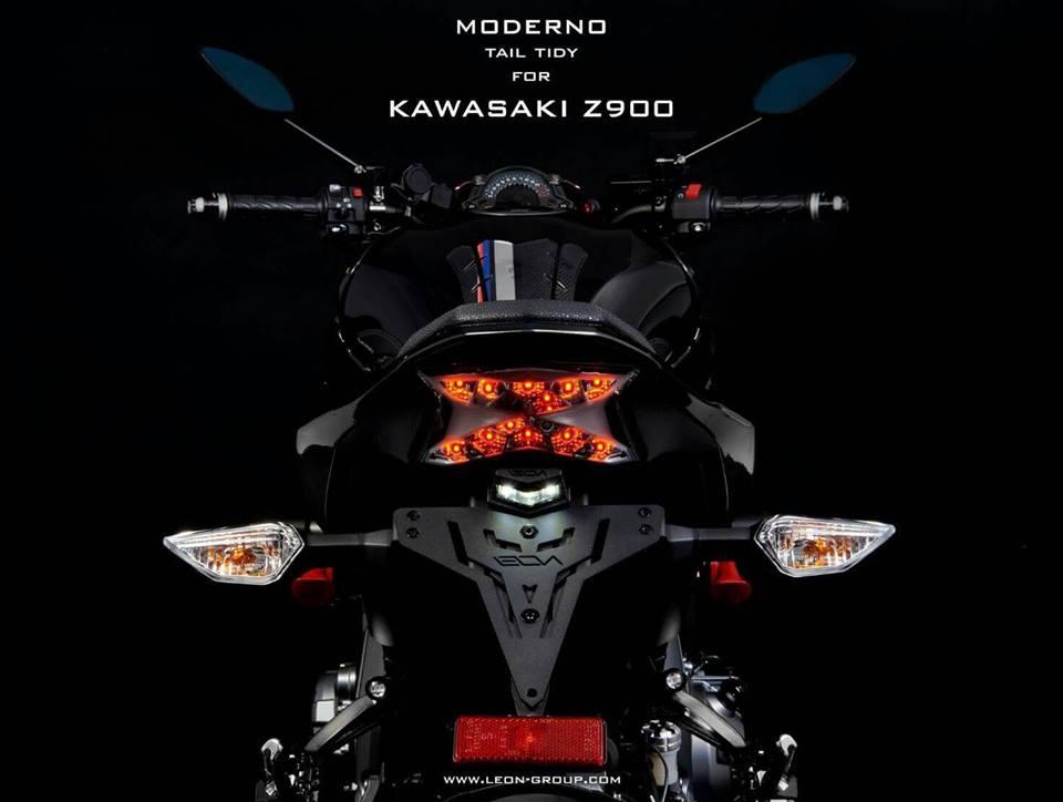 ท้ายสั้น Leon for Kawasaki Z900 รุ่น MODERNO
