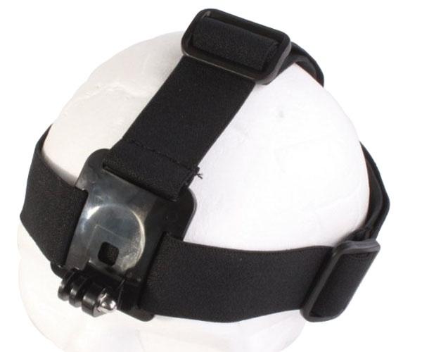 สายรัดหัวสำหรับกล้องGoPro หรือหมวกกันน๊อคพร้อมยางกันลื่น(CP23P)