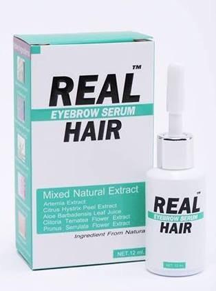 (ส่งฟรีEMS)Real Hair Eyebrow Serum (เซรั่มปลูกขนคิ้ว)