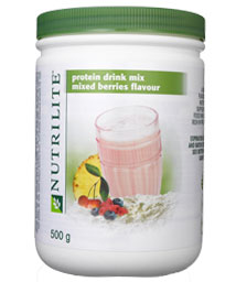 Protein Drink Mix Mixed Berries Flavour (500g) โปรตีนมิกซ์เบอร์รี่ อร่อยพร้อมดื่ม ผสมส้มและเชอร์รี่มาให้เรียบร้อยแล้ว( ไม่มีในไทย)