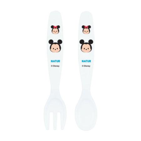 Mickey spoon & fork ชุดช้อนส้อมมิกกี้เม้าส์