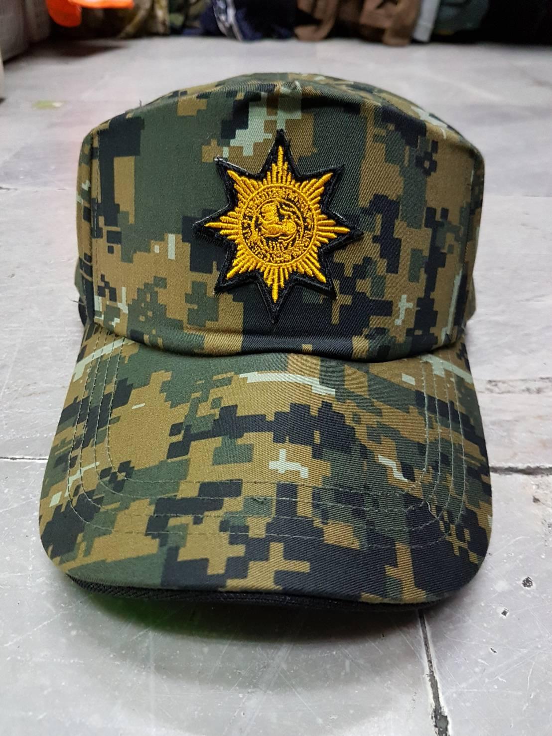 หมวกแก็ป ดต.อส. สิงห์แฉก