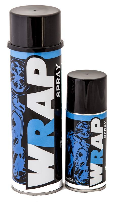 WRAP SPRAY (สเปรย์หล่อลื่นโซ่ สีใส)