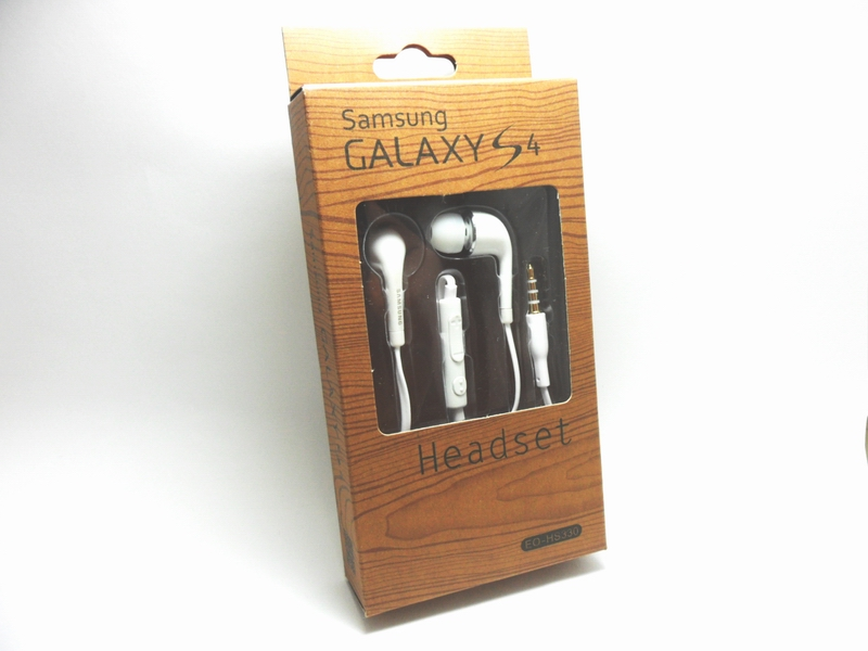 Handset Galaxy S4 ( สีขาว )