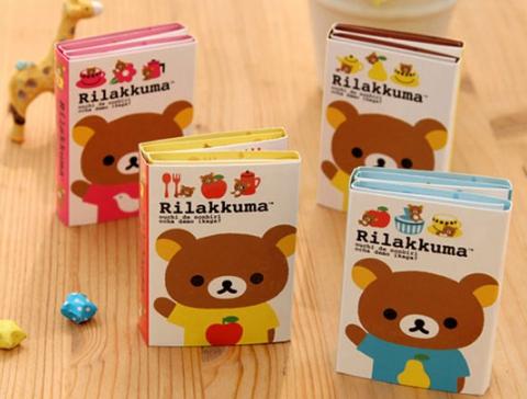 กระดาษโน๊ต Sticky-Kuma