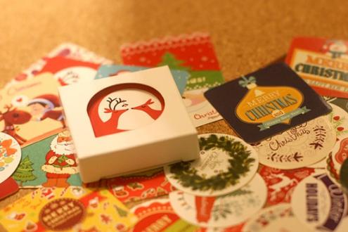 ชุดสติ๊กเกอร์ : Christmas stickers