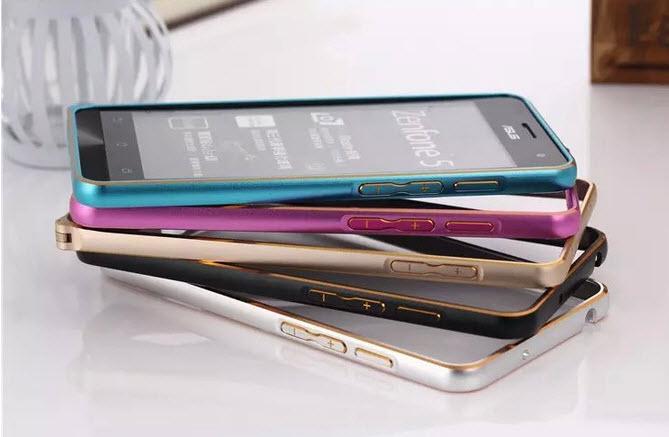 """เคสเซนโฟน2 5.5""""(Z551) แบบบัมเปอร์กรอบอลูมิเนียม"""