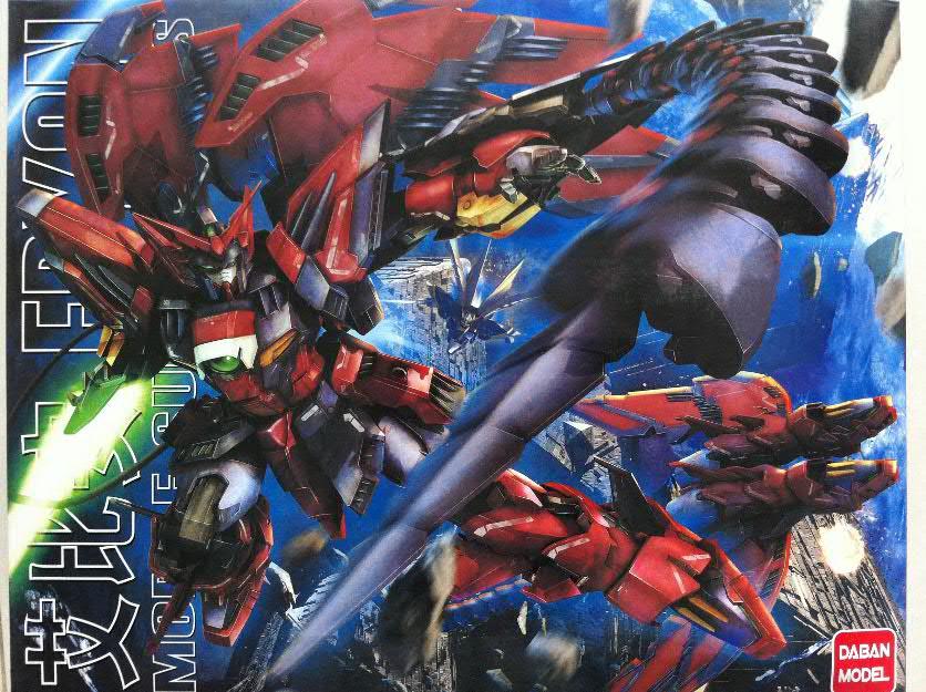 MG 1/100 Epyon Gundam