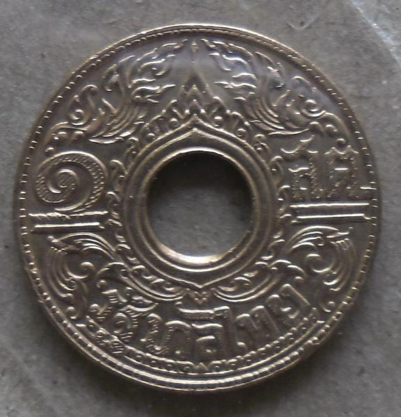 เหรียญ 1 สตางค์ เนื้อทองแดง พศ 2484