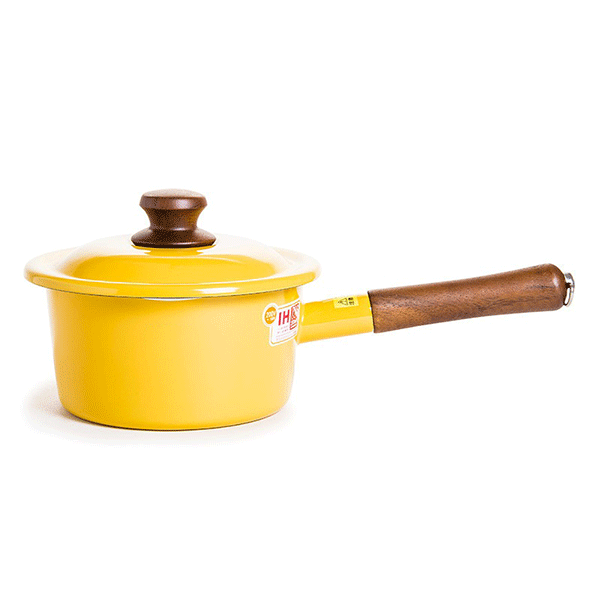 Fujihoro-18cm Vintage Enamel Pot