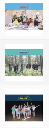 DIA - Mini Album Repackage Vol.3 [PRESENT]สั่งเป็น set 3 ปก