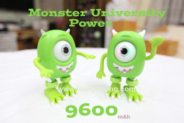 Monster University Power Bank แบตสำรอง มอนสเตอร์ 9600 mAh