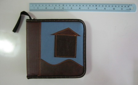 กระเป๋าซีดีรูปบ้าน รหัส 0382