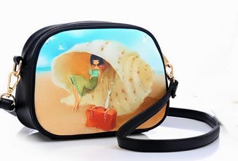 กระเป๋าแฟชั่น beibaobao AS Model ลายปริ้นท์