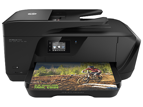 HP OfficeJet 7510 Wide Format All-in-One Printer - print, copy, scan, fax, A3, wireless (G3J47A)