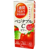 (ผิวขาวอมชมพู) 1 week Uruou Vegetables Beauty C Jelly เจลลี่คอลลาเจนเปปไทด์โมเลกุลต่ำพร้อมใยอาหาร ผัก+Lycopene(1ชิ้น=มะเขือเทศ3ลูก)เบต้าแคโรทีนβ(Beta-carotene)วิตามินผิวขาวพร้อมผสมแอสตาแซนธิน (Astaxanthin) เป็นสารที่มีความสามารถในการต้านอนุมูลอิสระได้ดีที
