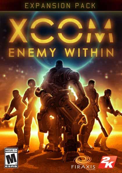 XCOM Enemy Within ( 5 DVD )