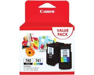Canon PG-740+CL-741 Value pack ตลับหมึกอิงค์เจ็ท สีดำ+สี Black+Color Original Ink