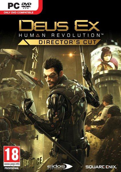 Deus Ex Human Revolution Directors Cut ( 5 DVD )